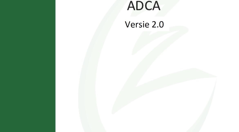 Zorgstandaard ADCA versie 2.0